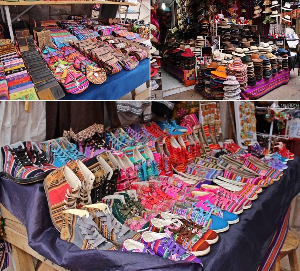 mercado de pisaq vale sagrado cusco peru