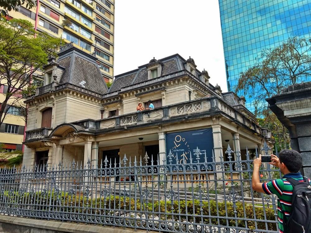 Casa das Rosas, antigo casarão de 1935, localizado na Avenida Paulista, em São Paulo.