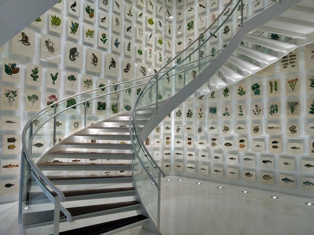 Exposição permanente do Itaú Cultural, idealizado por Olavo Setúbal. O iInstituto fica na Avenida Paulista, em São Paulo.