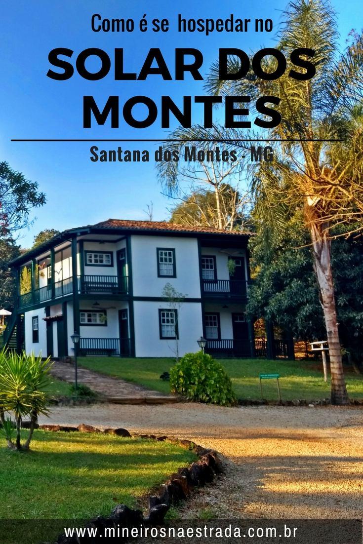 Como é se hospedar na Pousada Solar dos Montes, em Santana dos Montes, um belo lugar para descansar, com pensão completa, conforto e lazer.