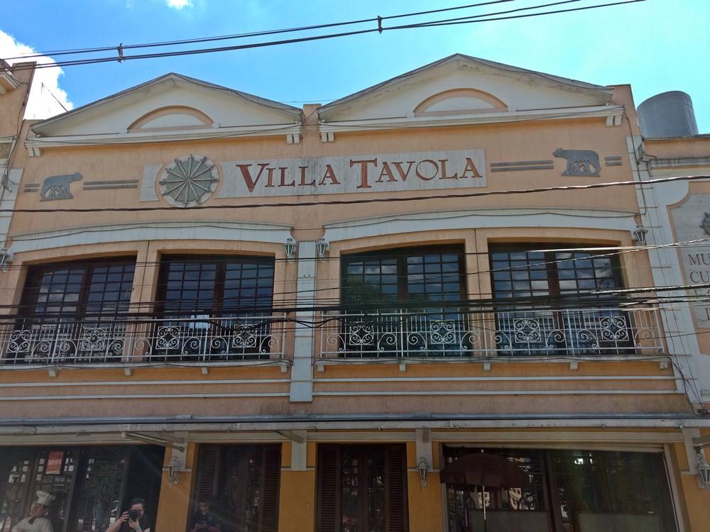 Villa Távora, tradicional cantina italiana no Bixiga, em São Paulo.