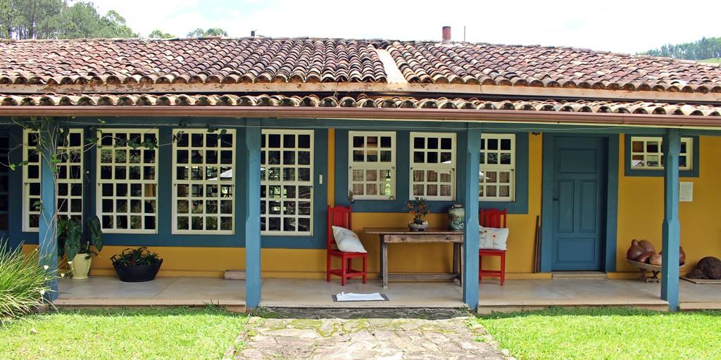Fazenda Santa Marina, no município de Santana dos Montes, que faz parte da Estrada Real e do Circuito Villas e Fazendas.