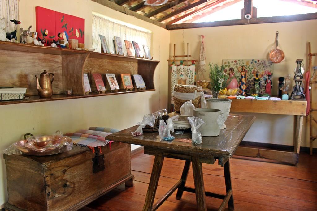 Empório da Fazenda Santa Marina, em Minas Gerais.