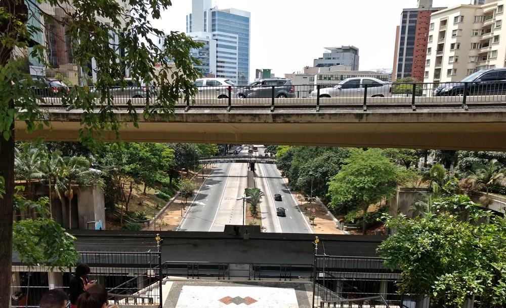 Mirante da 9 de Julho, em São Paulo. localizado atrás do MASP.