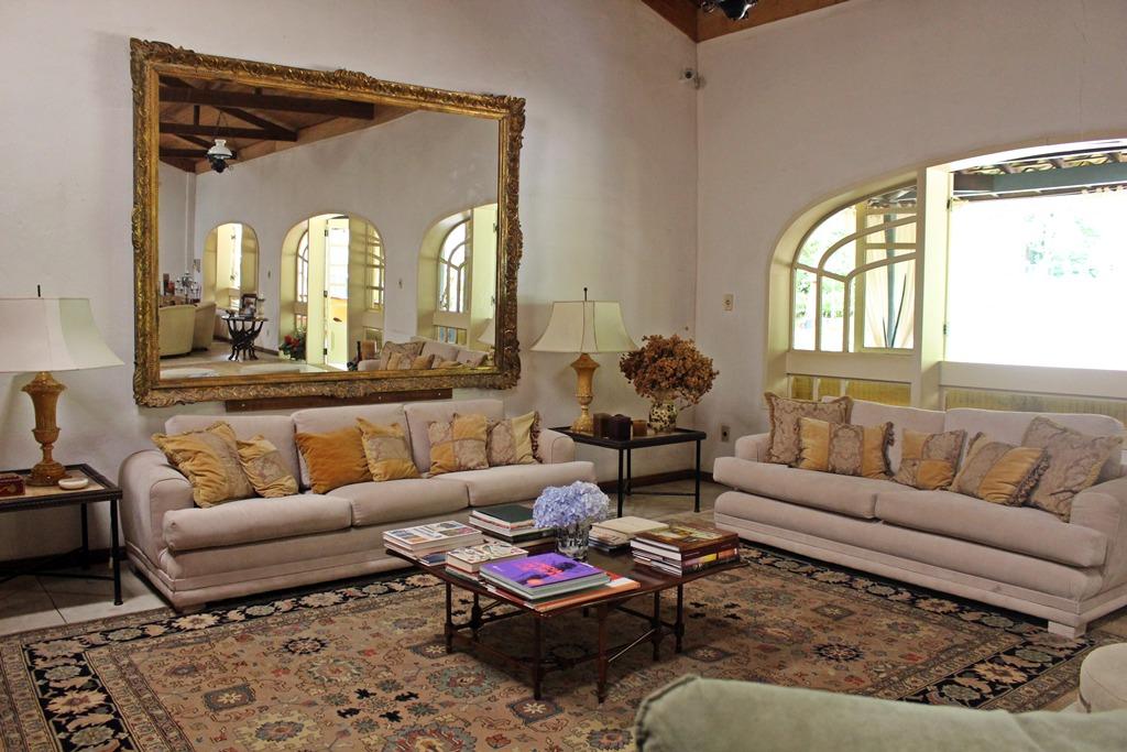 Sala de estar da Casa de Hóspedes da Fazenda Santa Marina