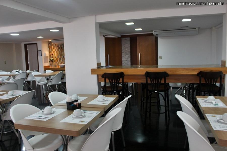 Restaurante do Pampulha Frimas Hotel, em Belo Horizonte