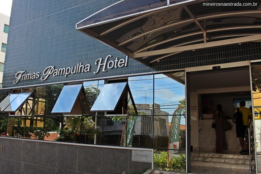 Frimas Pampulha Hotel, em Belo Horizonte, um hotel econômico, confortável e com bom atendimento,