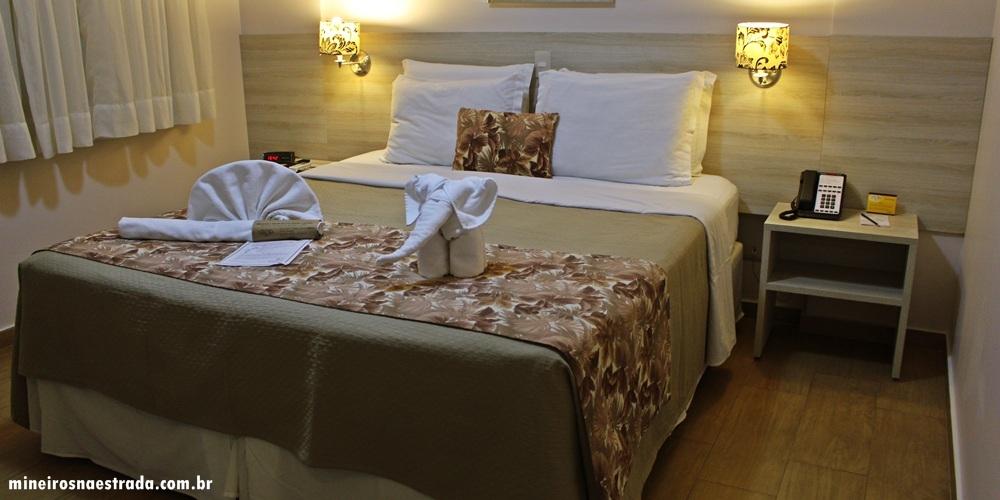 Best Western Tarobá Hotel, uma excelente opção de hospedagem em Foz do Iguaçu. Este é o quarto duplo superior.