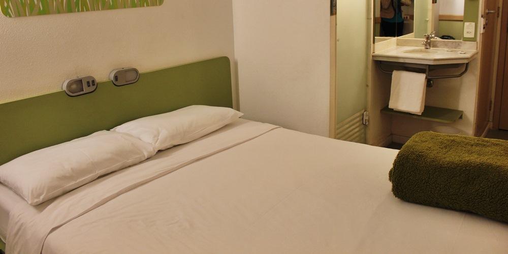 Ibis Budget Paraíso: hotel barato em São Paulo
