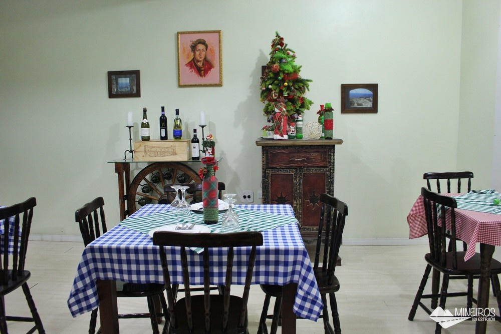 Onde comer em Foz do Iguaçu: La Bettola di Nonna Anna, restaurante italiano.