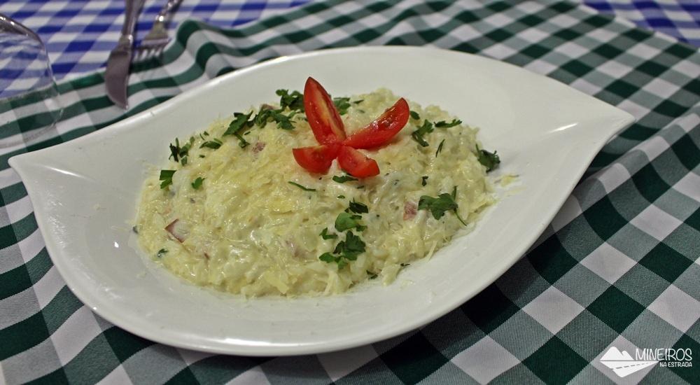Risoto a quatro queijos do La Bettola di Nonna Anna, restaurante italiano em Foz do Iguaçu.