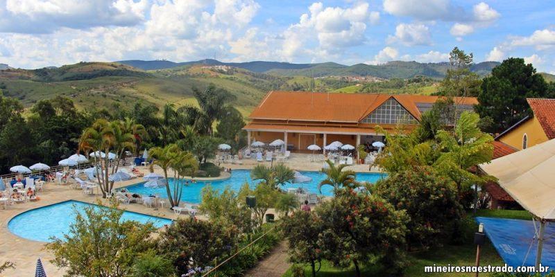 Conforto, lazer e comilança no Monreale Hotel Resort, em Poços de Caldas
