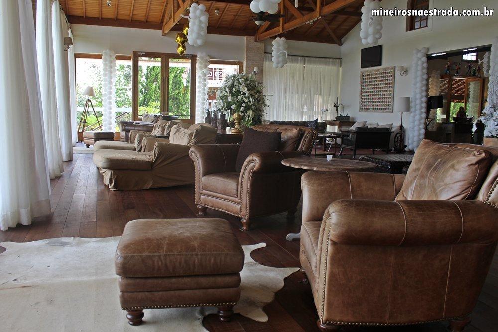 Salas de estar do Monreale Resort Hotel, em Poços de Caldas. São mais de 15 ambientes, todos muito confortáveis.