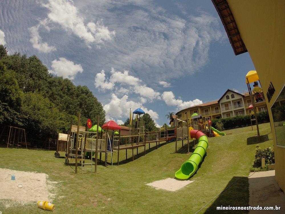Playground no Monreale Hotel Resort, em Poços de Caldas.