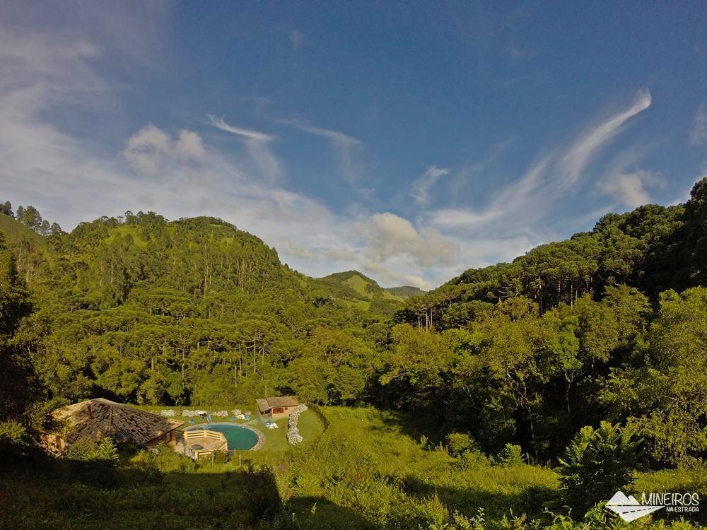 Pousada do Rio, uma pousada em meio a montanhas, na zona rural de Gonçalves.