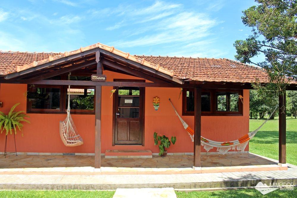 Sauna na Pousada Vila Minas, em Itanhandu, sul de Minas Gerais.