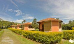 Chalés da Pousada Vila Minas, em Itanhandu, sul de Minas Gerais.