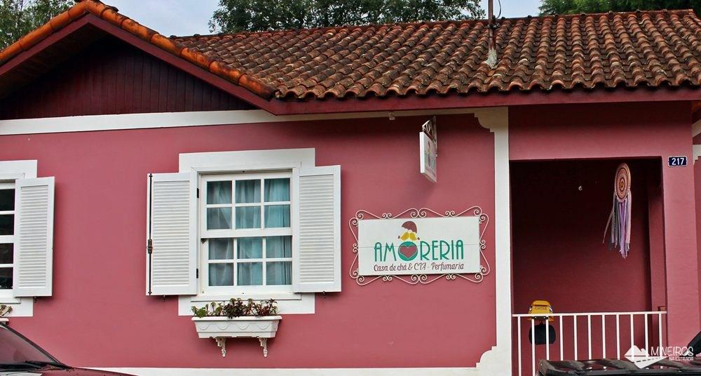 Amoreria, um bistrô em Gonçalves, sul de Minas Gerais.
