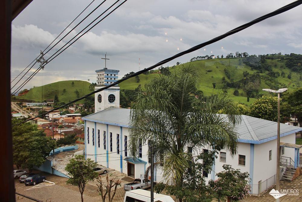 Café com verso, restaurante no centro de Gonçalves, Minas Gerais.
