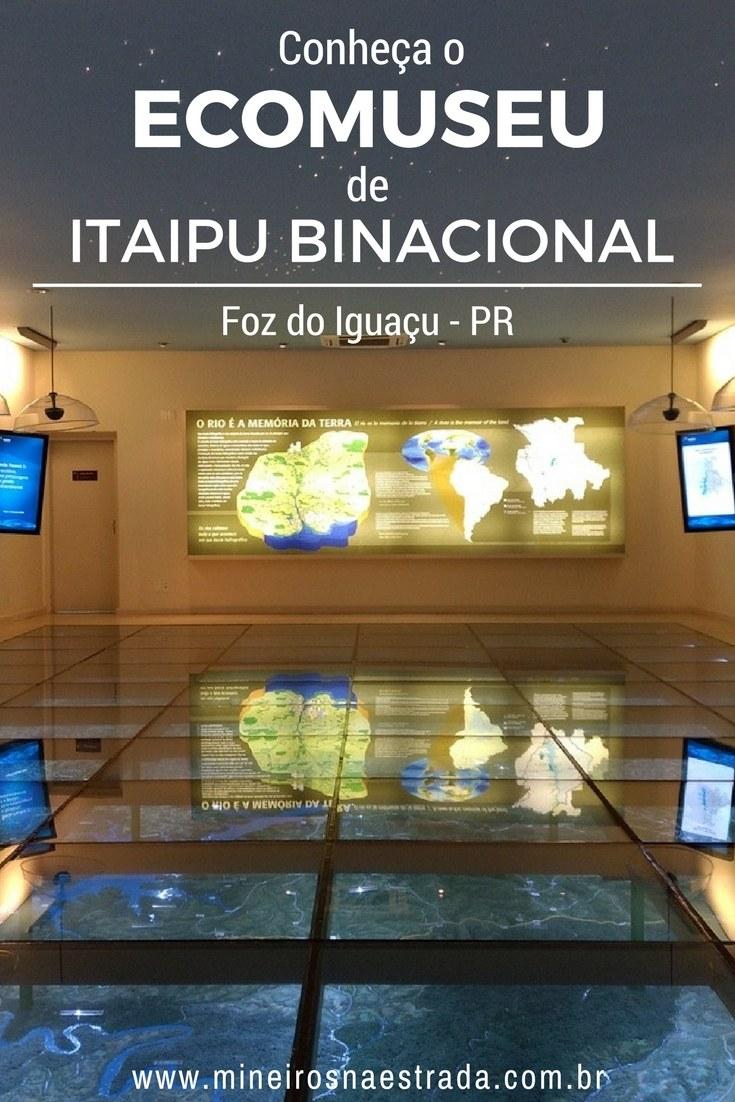 No Ecomuseu de Itaipu Binacional aprendemos bastante sobre a história e funcionamento desta grandiosa usina. Tem até uma maquete enorme para a gente entender a dimensão da hidrelétrica.