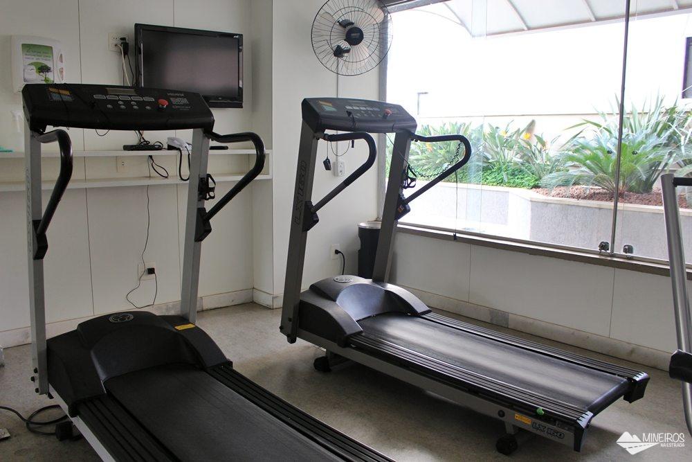 Academia do Max Savassi Apart Service, excelente opção de hospedagem em Belo Horizonte.
