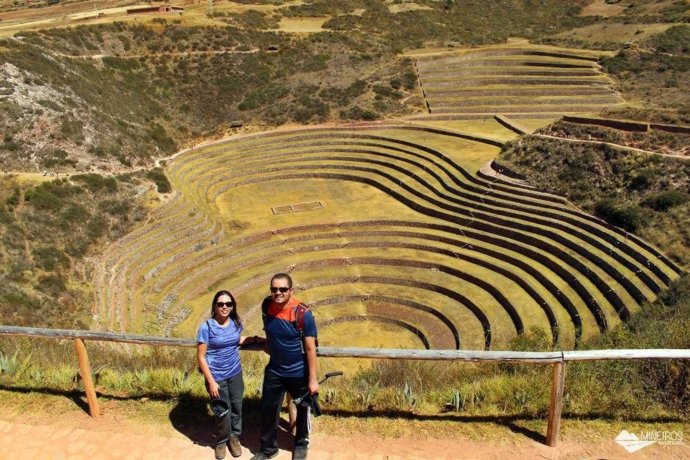 Famosa por degraus dispostos em círculos concêntricos, Moray está a 7 quilômetros de Maras e a 3500 metros de altitude.