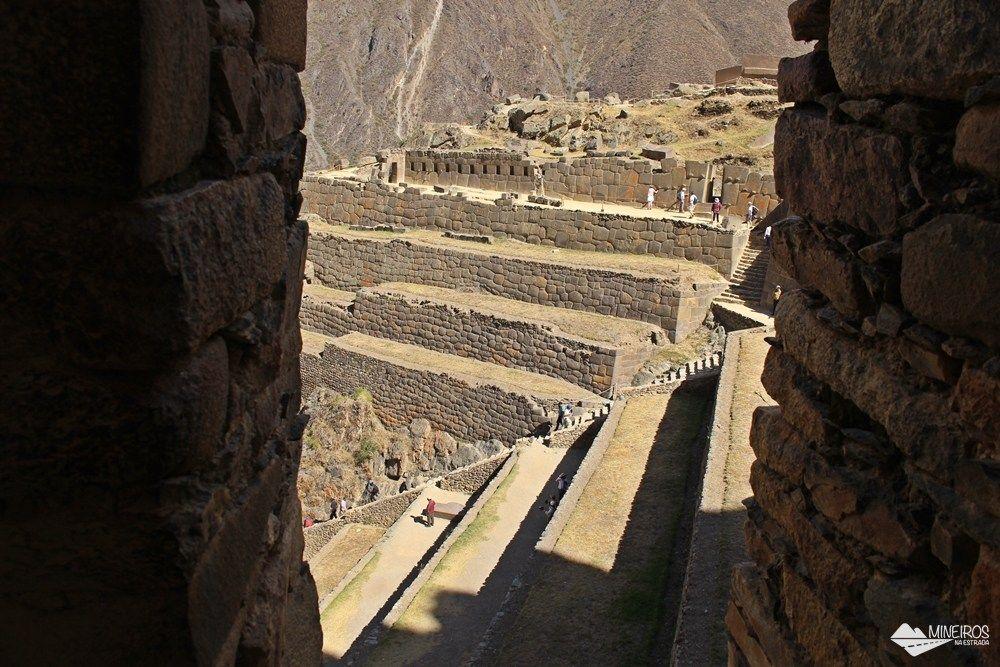 Ollantaytambo, sítio arqueológico que faz parte do Vale Sagrado dos incas,próximo a Cusco.