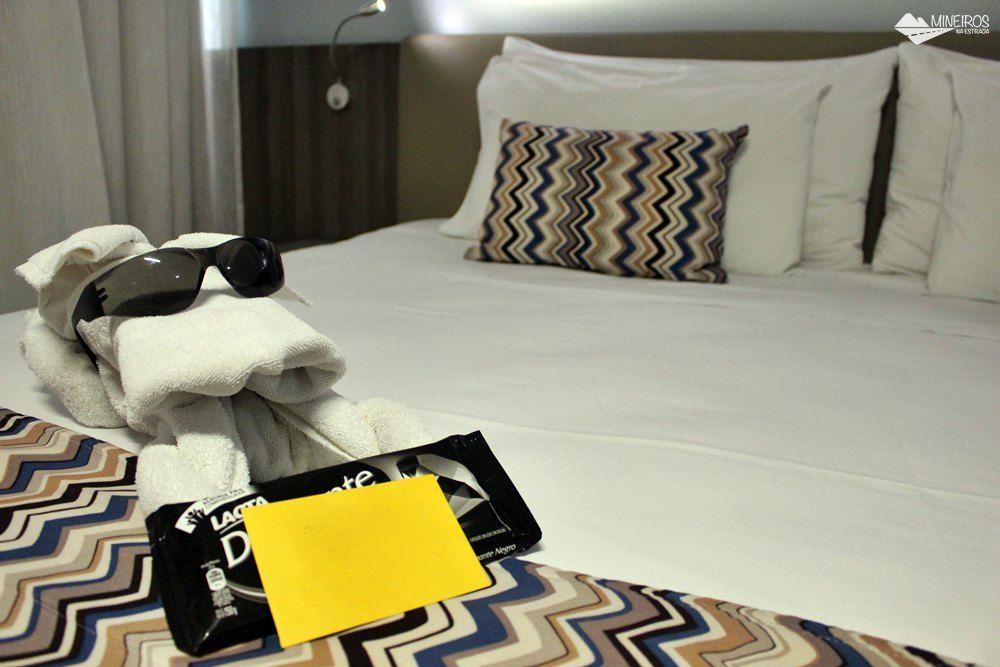 Mimo para hóspedes no Pampulha Design Hotel, um hotel localizado na orla da Lagoa da Pampulha, em Belo Horizonte.