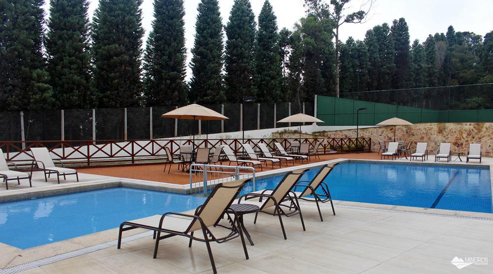 Piscinas do Bristol Vista Azul, hotel em Domingos Martins, região das montanhas capixabas.