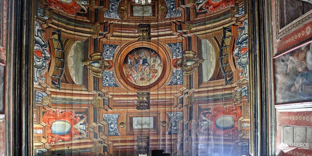 Capela do Padre Faria, única em Ouro Preto em que fotografias são permitidas.