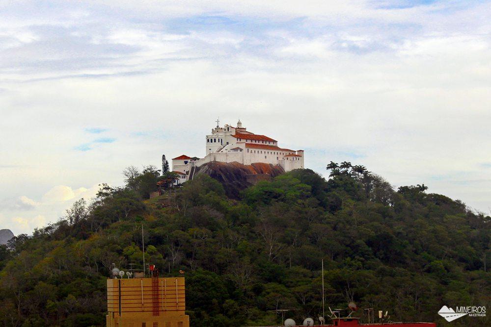 Convento da Penha, visto do Quality Suítes Vila Velha,