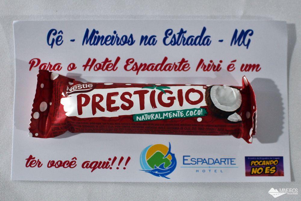 Presentinho do Hotel Espadarte, em Iriri.