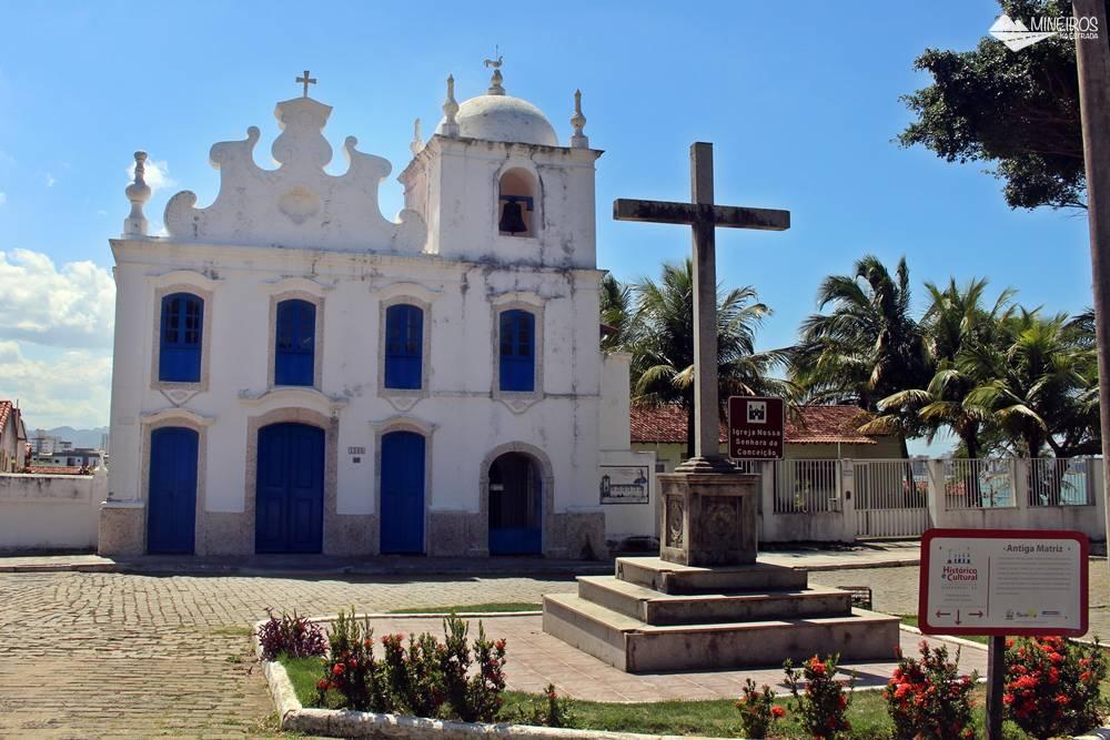 Igreja Nossa Senhora da Conceição, antiga matriz de Guarapari.
