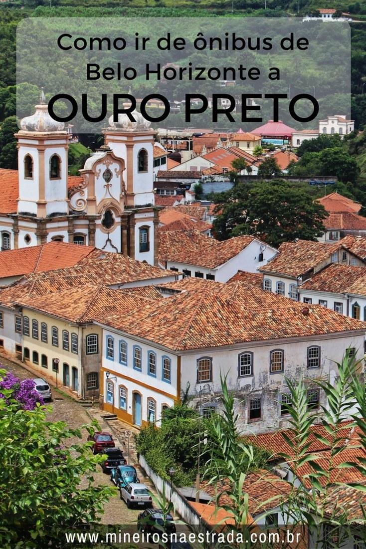 Como comprar passagens, como é a viagem e quais as opções para ir da rodoviária de Ouro Preto para o Centro Histórico.