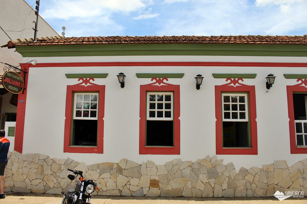 Restaurante Juliano's, superfamoso em Itanhandu, sul de Minas Gerais.