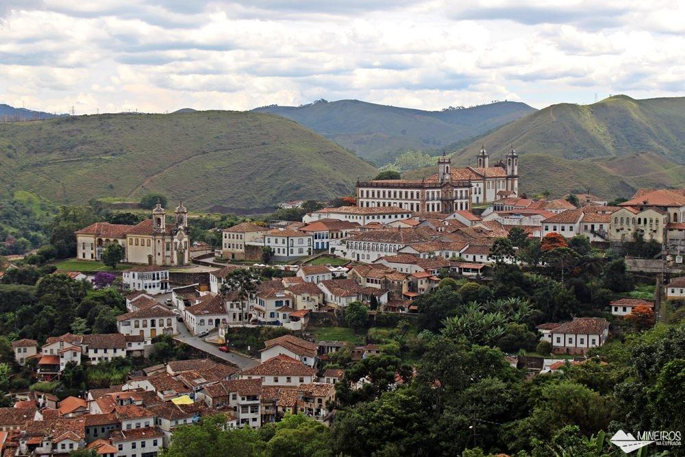 Ouro Preto vista da rua Conselheiro Quintiliano.