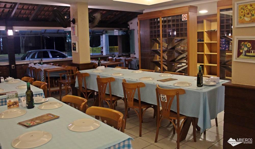 Restaurante Atlântica, em Itaparica, Vila Velha.