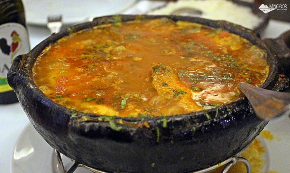 Moqueca do Restaurante Atlântica, em Vila Velha, no Espírito Santo.