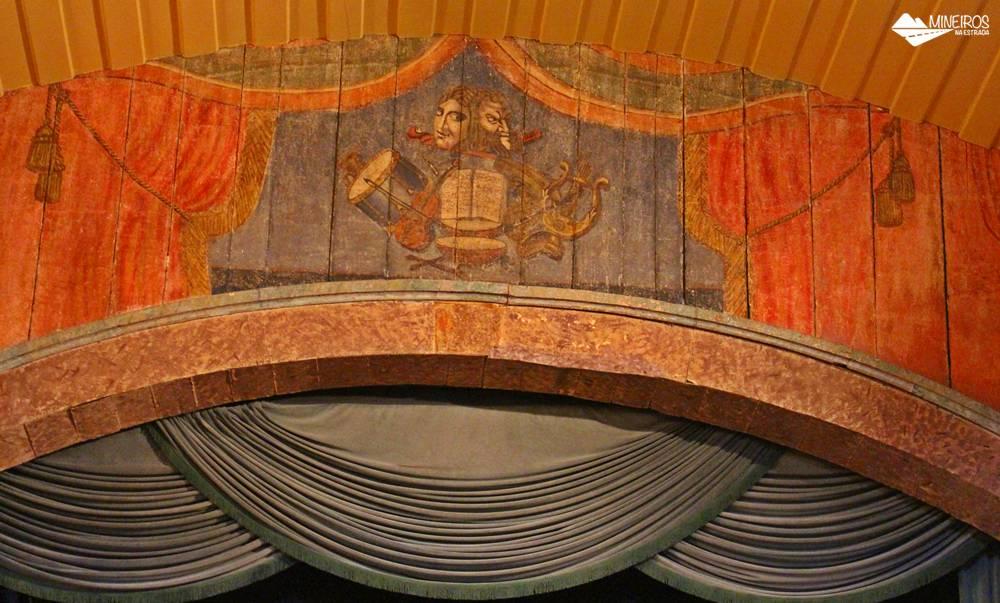 Teatro Municipal de Ouro Preto, a Casa da Ópera, é o mais antigo teatro das Américas, e reabriu suas portas em 2017 para espetáculos e visitação.