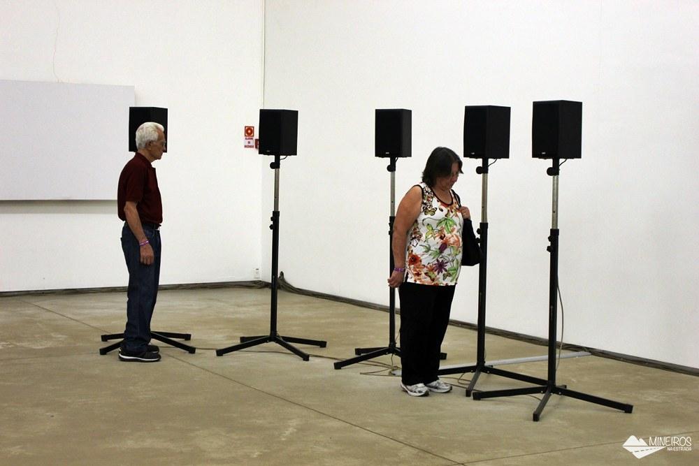 Obra de Janet Cardiff, no Inhotim, em Minas Gerais.