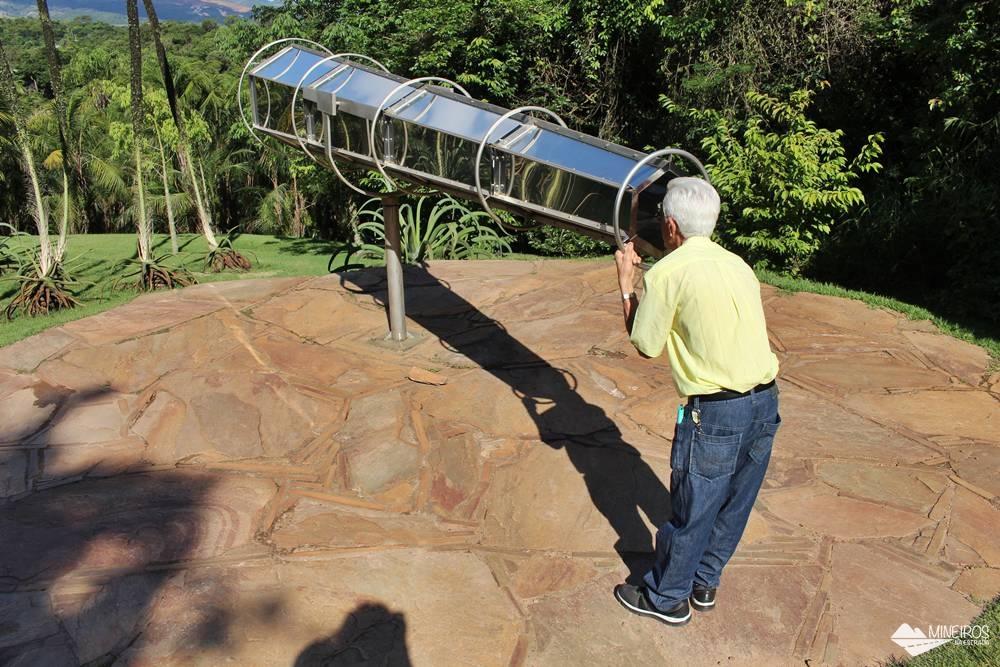 Obra Viewing Machine, o caleidoscópio do Inhotim, em Brumadinho, Minas Gerais.