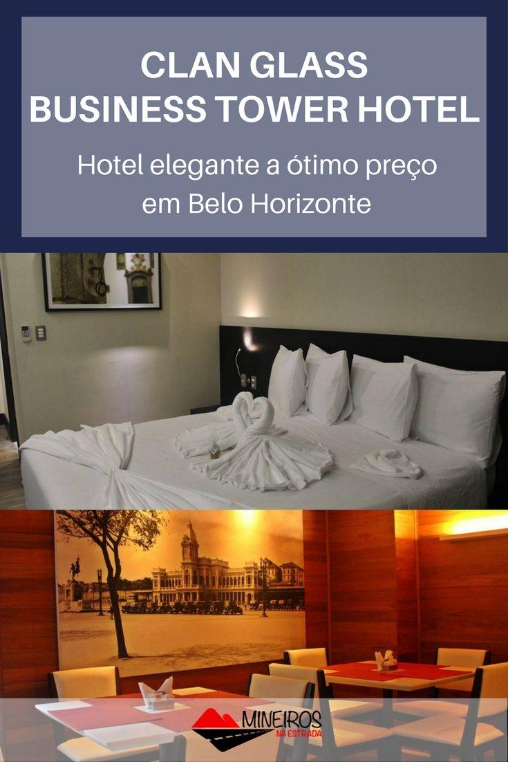 O Clan Glass Business Tower Hotel é um hotel novo e confortável na região da Savassi, em Belo Horizonte.