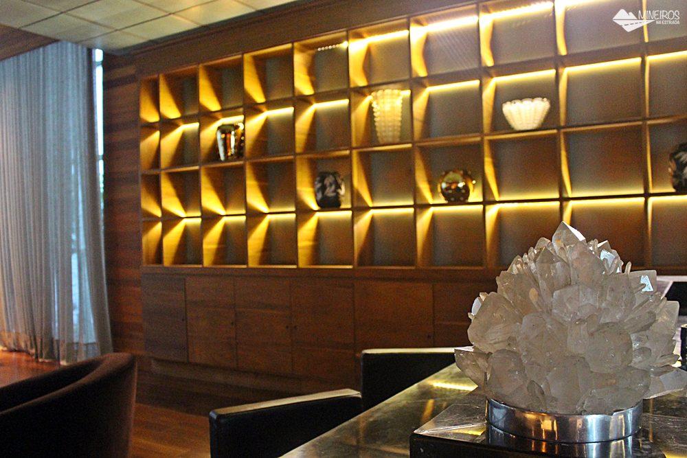 Scoth bar do Clan Glass Business Tower Hotel , um hotel novo e confortável na região da Savassi, em Belo Horizonte.