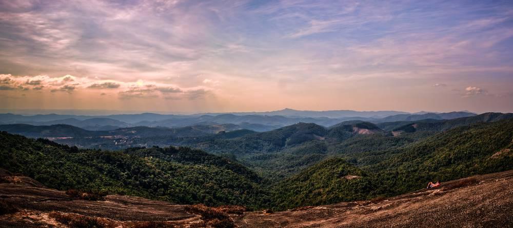 Vista da Pedra Redonda, em Monte Verde.