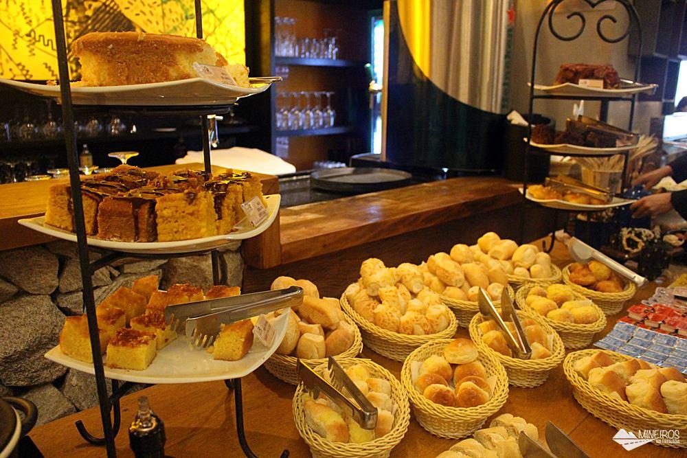 Café da manhã do Radisson Blu Belo Horizonte, um hotel bem localizado, na região da Savassi.