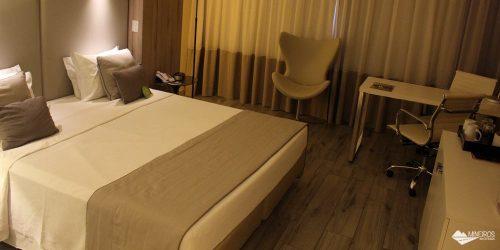 Hotel Radisson Blu Belo Horizonte: muito conforto e um banquete no café da manhã