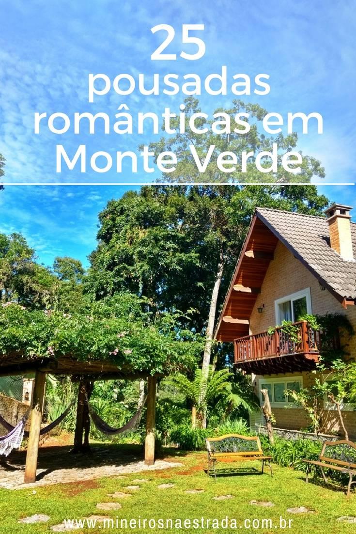 Selecionamos 25 pousadas românticas em Monte Verde, equipadas com banheira de hidromassagem e que oferecem estacionamento e café da manhã.