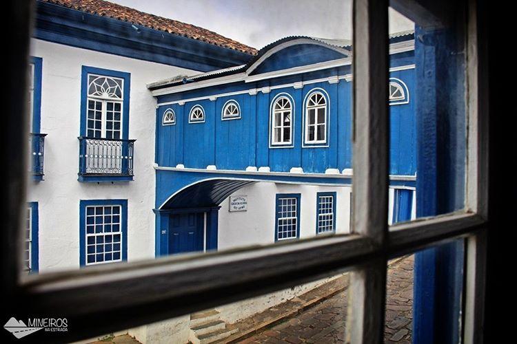 Casa da Glória, em Diamantina, cidade mineira famosa pelas Vesperatas, ótimo destino de inverno.