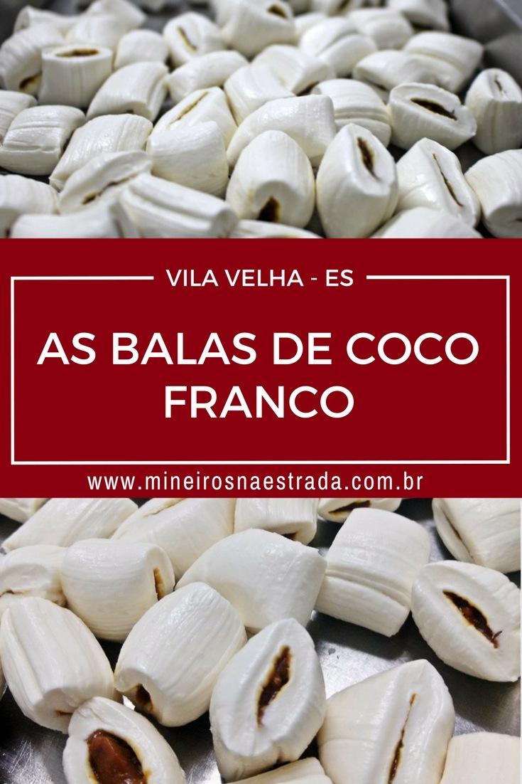 Balas de Coco Franco - Vila Velha