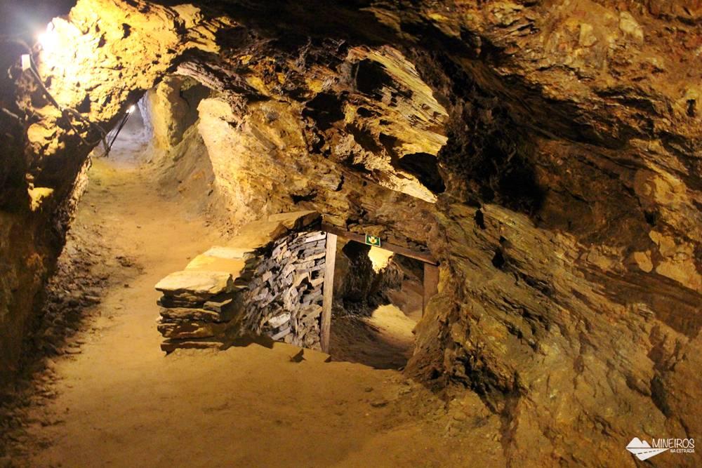 Mina du Veloso, mina de Ouro aberta à visitação,em Ouro Preto.
